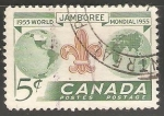 Stamps Canada -  World Scout Jamboree