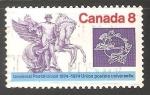 Sellos del Mundo : America : Canadá : Union postal Universal 1874-1974