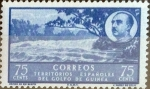 Stamps Spain -  Intercambio fd2a 0,25 usd 75 cents. 1950