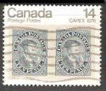 Sellos de America - Canadá -  CAPEX '78 - Canadian Philatelic Exhibition