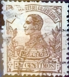 Stamps : Europe : Spain :  Intercambio 0,20 usd 2 cent. 1912