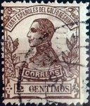 Sellos de Europa - España -  Intercambio 0,20 usd 2 cent. 1912
