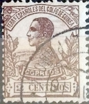 Stamps Spain -  Intercambio 0,20 usd 2 cent. 1912