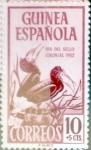 sellos de Europa - España -  Intercambio 0,20 usd 10 + 5 cents. 1952