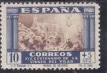 Sellos de Europa - España -  XIX CENTENARIO DE LA VIRGEN DEL PILAR (24)
