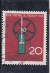 Stamps Germany -  100 aniversario motor de combustión interna