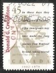 Sellos de America - Canadá -  Donald Creighton