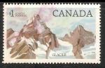 Sellos de America - Canadá -  Glaciar