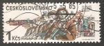Sellos de Europa - Checoslovaquia -   Czech-Soviet Treaty