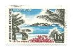 Stamps : Europe : France :  Isla. Paisaje