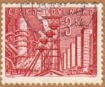 Sellos de Europa - Checoslovaquia -  FABRICAS EN KLADNO