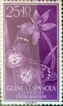 Sellos de Europa - España -  Intercambio nf4b 0,35 usd 25 + 10 cents. 1958