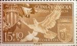 Sellos de Europa - España -  Intercambio 0,20 usd 15 + 10 cents. 1958