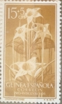 Sellos de Europa - España -  Intercambio fd2a 0,30 usd 15 + 5 cents. 1956