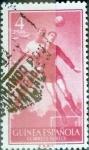 Stamps Spain -  Intercambio jxi 0,40 usd  4 ptas. 1956