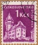 Stamps Czechoslovakia -  CASTILLO DE SMOLENICE