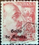 Stamps : Europe : Spain :  Intercambio 0,65 usd  4 ptas. 1942