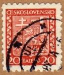 Sellos de Europa - Checoslovaquia -  ESCUDO