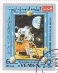 Stamps Yemen -  AERONAUTICA-historia de la conquista del espacio