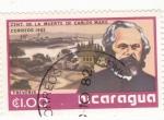 Stamps Nicaragua -  cent. de la muerte de Carlos Marx