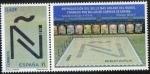 Sellos de Europa - España -  4973-Récord guinness. mosaico más grande del mundo realizadocon sellos de correo que reproduce la le