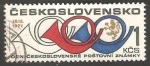 Sellos de Europa - Checoslovaquia -  Post Horns and Lion