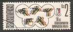 Stamps Czechoslovakia -   Olympic Committee, 90th Anniv.