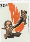 Sellos de Europa - Rwanda -  instrumentos musicales africanos