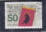 Sellos de Europa - Suiza -  1388 Näfels, canton suizo