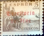 Stamps : Europe : Spain :  Intercambio 4,00 usd 5 cents. 1948
