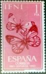 Stamps : Europe : Spain :  Intercambio 0,30 usd 1 pta. 1963
