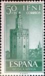 Sellos de Europa - España -  Intercambio 0,25 usd 50 cents. 1963
