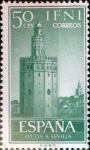 Stamps : Europe : Spain :  Intercambio 0,25 usd 50 cents. 1963