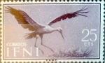sello : Europa : España : Intercambio fda 0,20 usd 25 cents. 1960