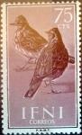 sello : Europa : España : Intercambio fda 0,25 usd 75 cents. 1960
