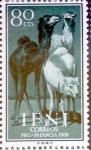 sello : Europa : España : Intercambio fda 0,30 usd 80 cents. 1960