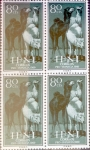 Stamps : Europe : Spain :  Intercambio 1,20 usd 4 x 80 cents. 1960