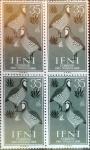 sellos de Europa - España -  Intercambio 0,80 usd 4 x 35 cents. 1960