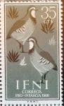 sello : Europa : España : Intercambio fda 0,20 usd 35 cents. 1960
