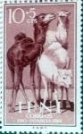 Sellos de Europa - España -  Intercambio m1b 0,25 usd 10 + 5 cents. 1960