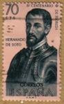 Stamps Spain -  Hernando de Soto