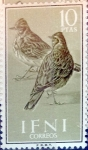 Stamps : Europe : Spain :  Intercambio 4,50 usd 10 ptas. 1960