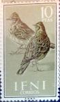 sello : Europa : España : Intercambio fda 4,50 usd 10 ptas. 1960
