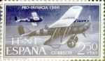 Stamps : Europe : Spain :  Intercambio 2,00 usd 2,50 ptas. 1966