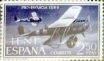 Sellos de Europa - España -  Intercambio jxi 2,00 usd 2,50 ptas. 1966
