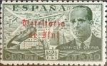 Stamps Spain -  Intercambio jxi 4,50 usd 2 ptas. 1949