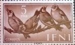 Sellos de Europa - España -  Intercambio cr2f 1,10 usd 5 ptas. 1960