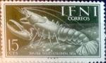 Sellos de Europa - España -  Intercambio 0,25 usd 15 cents. 1954