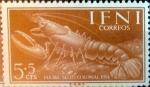 Sellos de Europa - España -  Intercambio m1b 0,25 usd 5 + 5 cents. 1954
