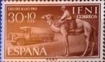 Sellos de Europa - España -  Intercambio cr2f 0,25 usd 30 + 10 cents. 1961